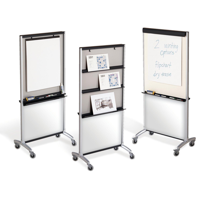 Quartet 3 in 1 total erase easel whiteboard for Office display board