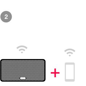 Connect to your home WiFi network using the free Sonos app.