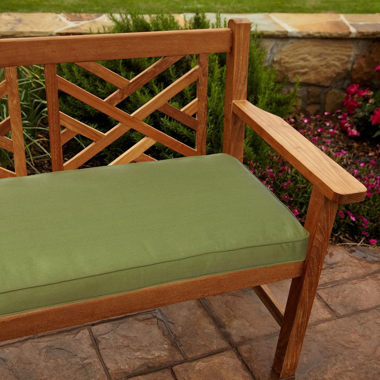 Amazon Mozaic Indoor Outdoor Corded Bench Cushion