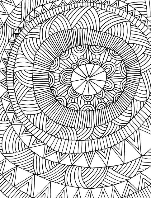 Just Add Color Geometric Patterns 30 Original