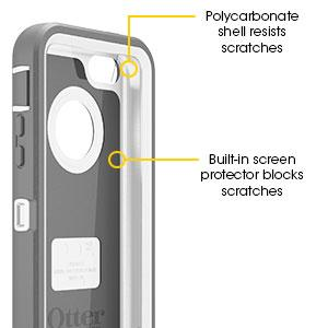 Iphone 5c Otterbox Clear Features   OtterBox Defender