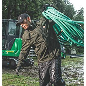 Staying dry in the rain with Storm Defender garments