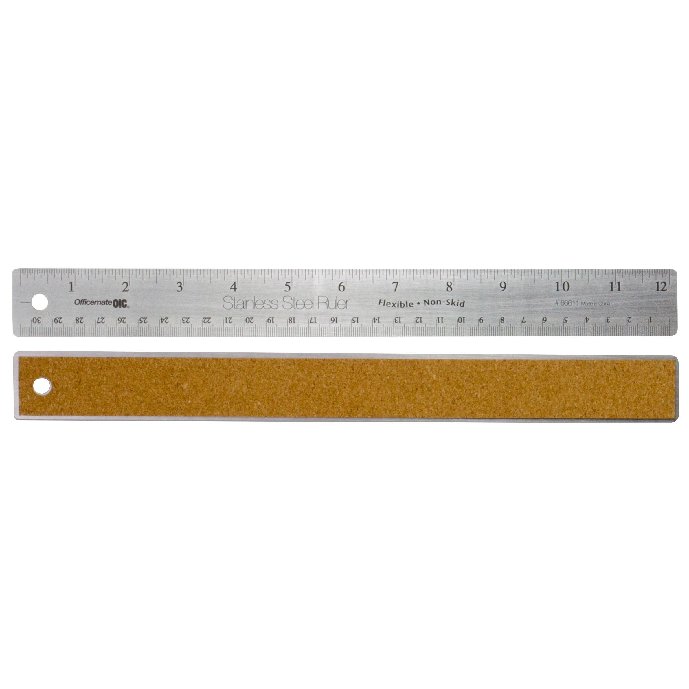 how to use a ruler for inche measurements