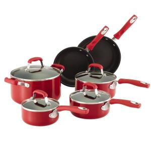 cookware set, non stick,Guy Fieri, kitchen, cookware, cutlery, pots, pans, chef, celebrity chef