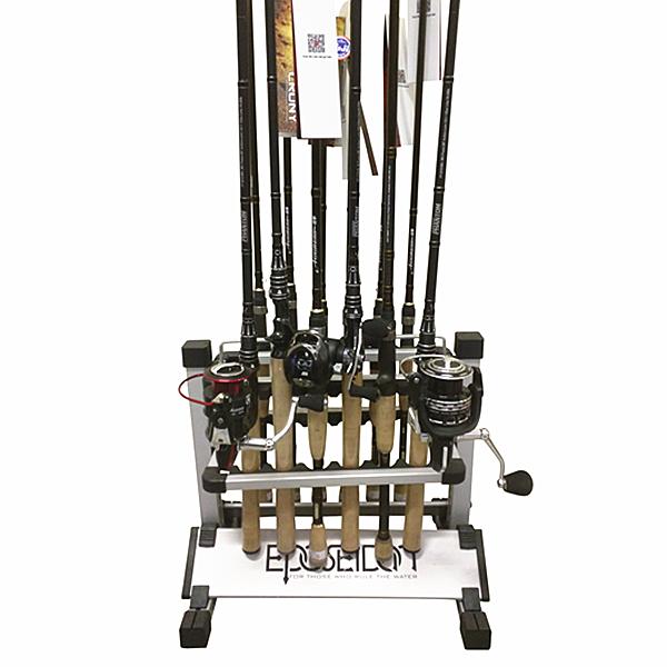 Kastking rack 39 em up fishing rods holder for Fishing pole rack for truck