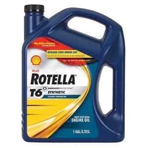 Amazon Com Shell Rotella 550019921 T6 5w 40 Full
