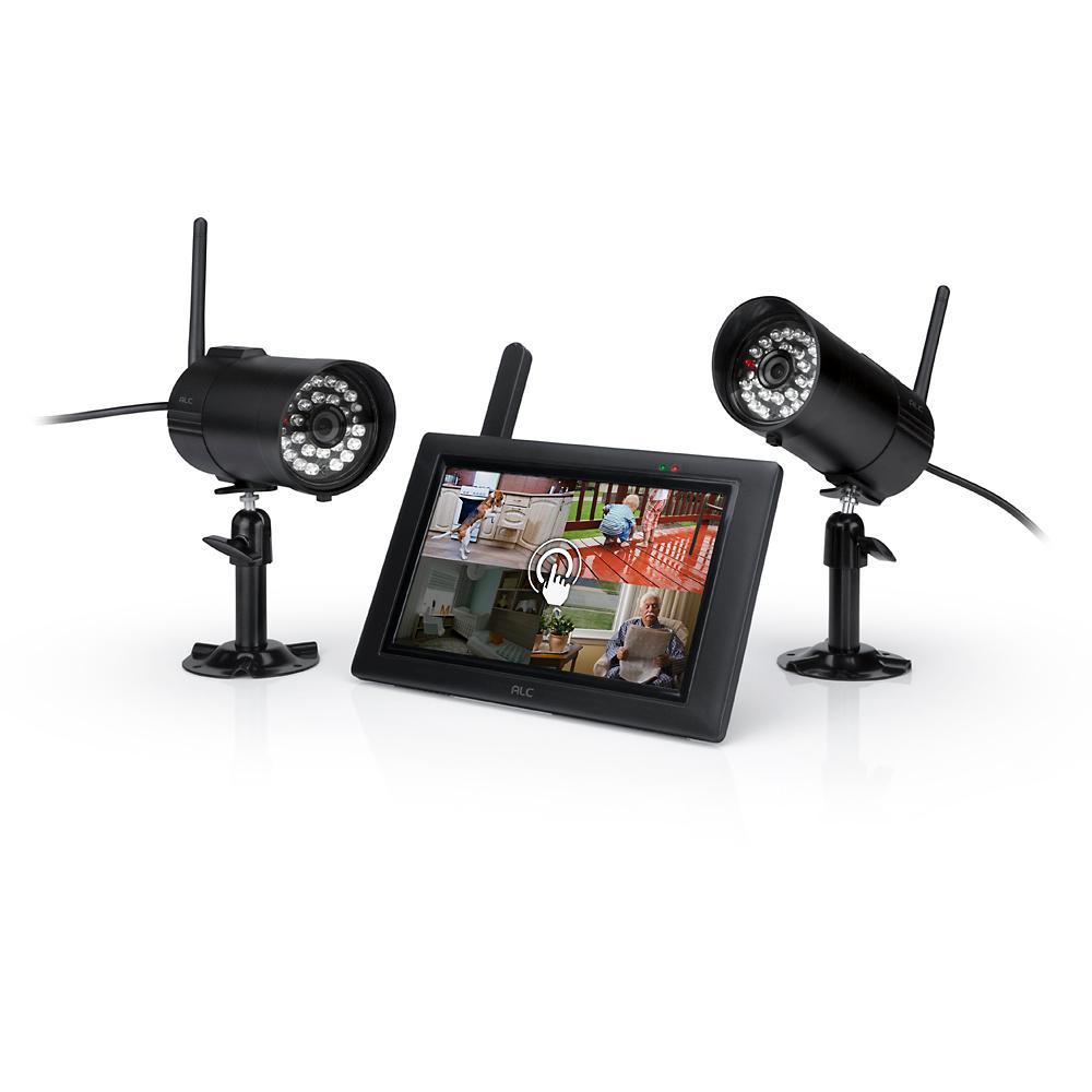 Amazon Com Alc Aws2155 7 Inch Touchscreen Surveillance
