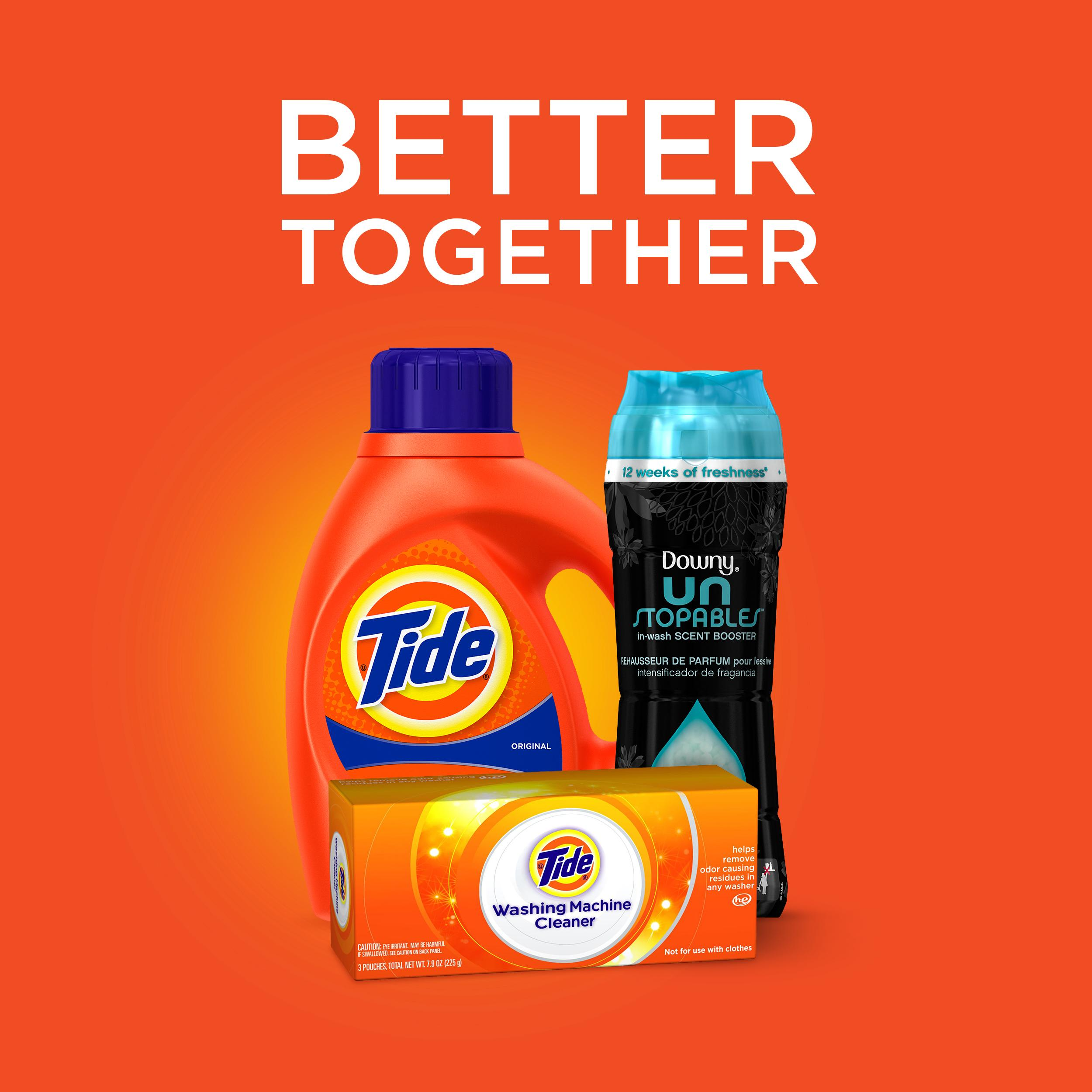 tide detergent Plus febreze® liquid laundry detergent get the powerful stain-removing power of tide® with febreze® freshness pleasant, renewing.
