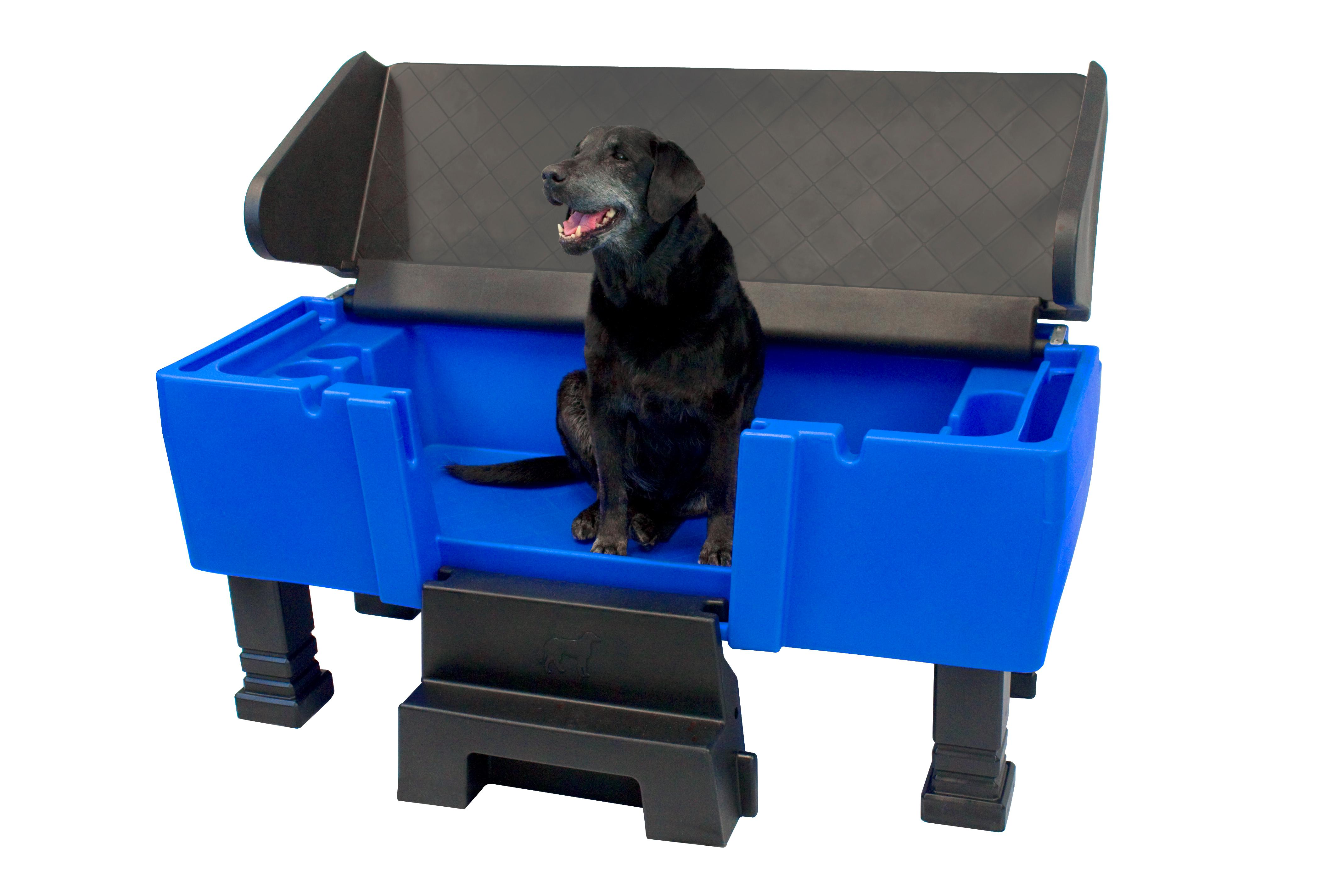 Pet Dog Cat Canine Wash Washer Station Groom Clean Trim Maintain Brush Hair