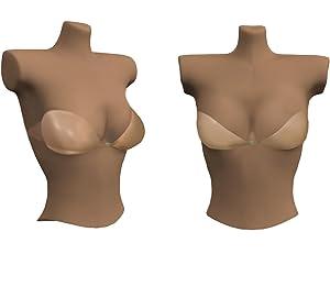 backless bra strapless bra, reusable, super light bra, adhesive, silicone bra, nubra, nu bra