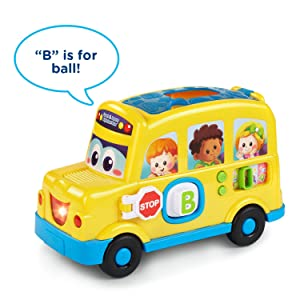 VTech Count and Learn Alphabet Bus - Barnes & Noble