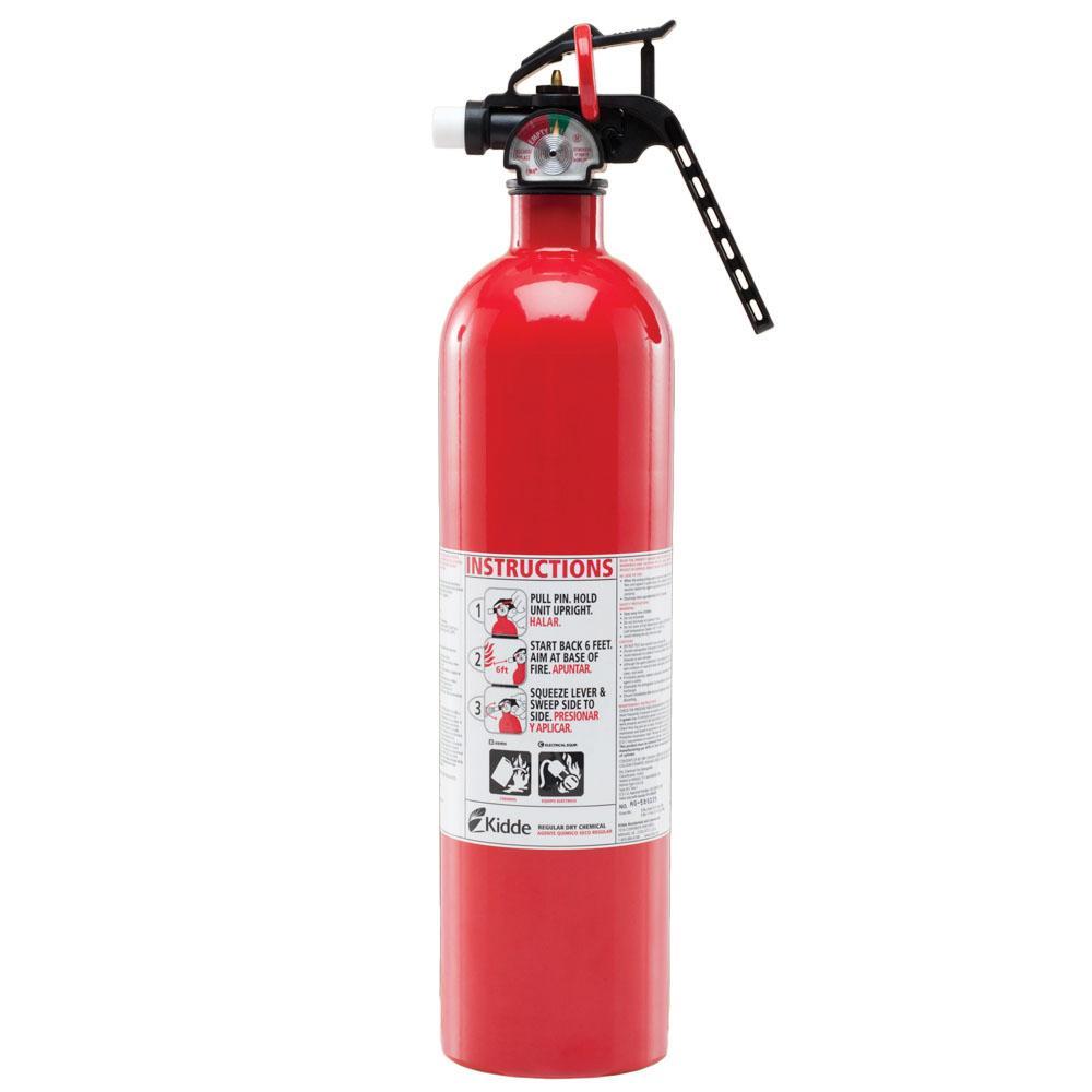 Kidde Fire Extinguisher Abc Dry Chemical Home Car Shop Kitchen Safety Lb Ebay