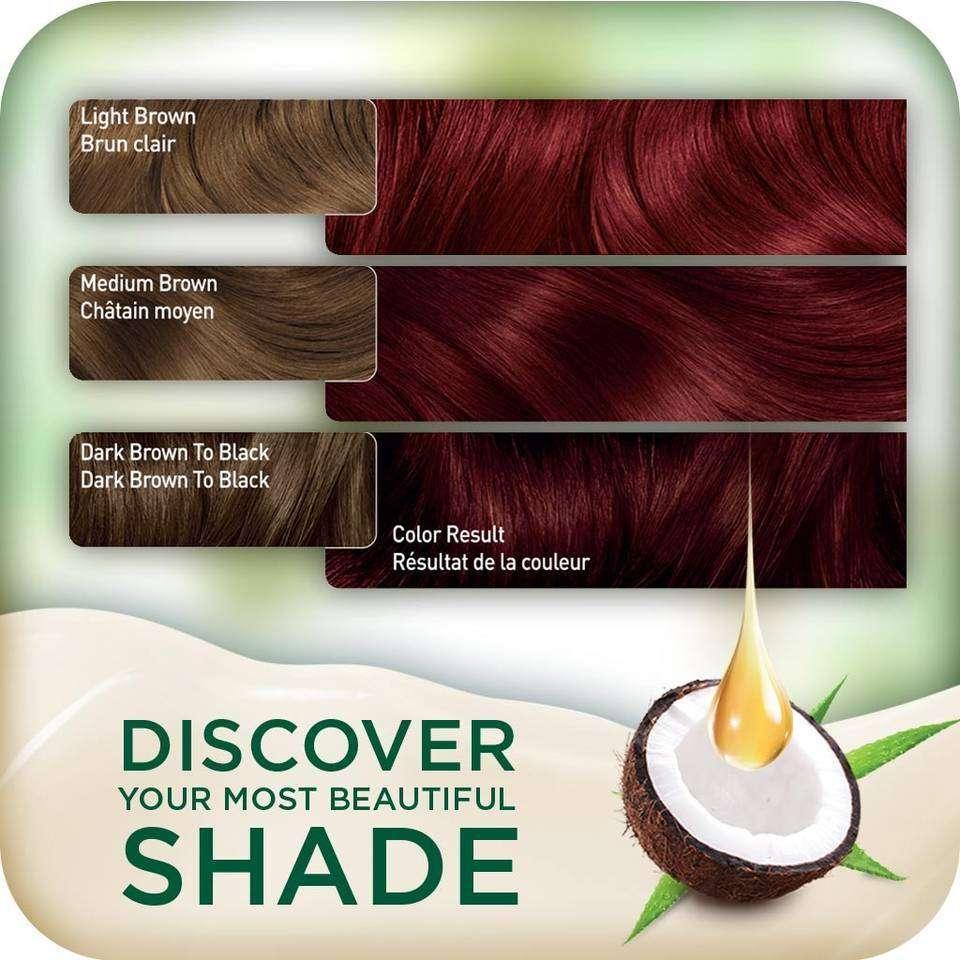 Clairol Natural Instincts Crema Keratina Hair Color Kit, Medium Red