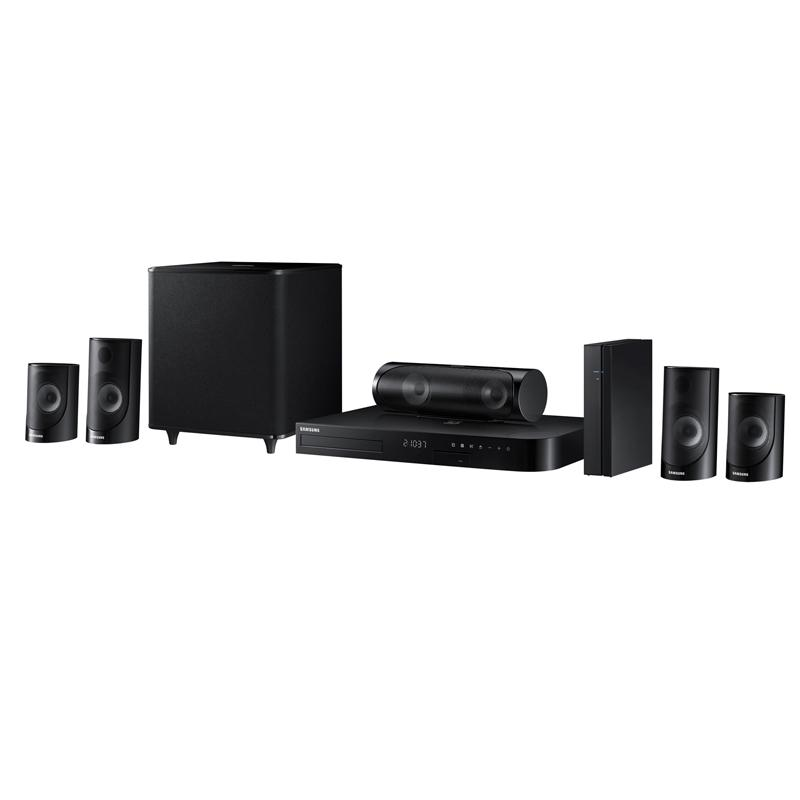 samsung ht j5500w 5 1 channel 1000 watt 3d blu ray home theater system 2015 model. Black Bedroom Furniture Sets. Home Design Ideas