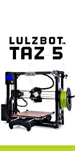 LulzBot TAZ, TAZ 5, LulzBot, 3D Printer
