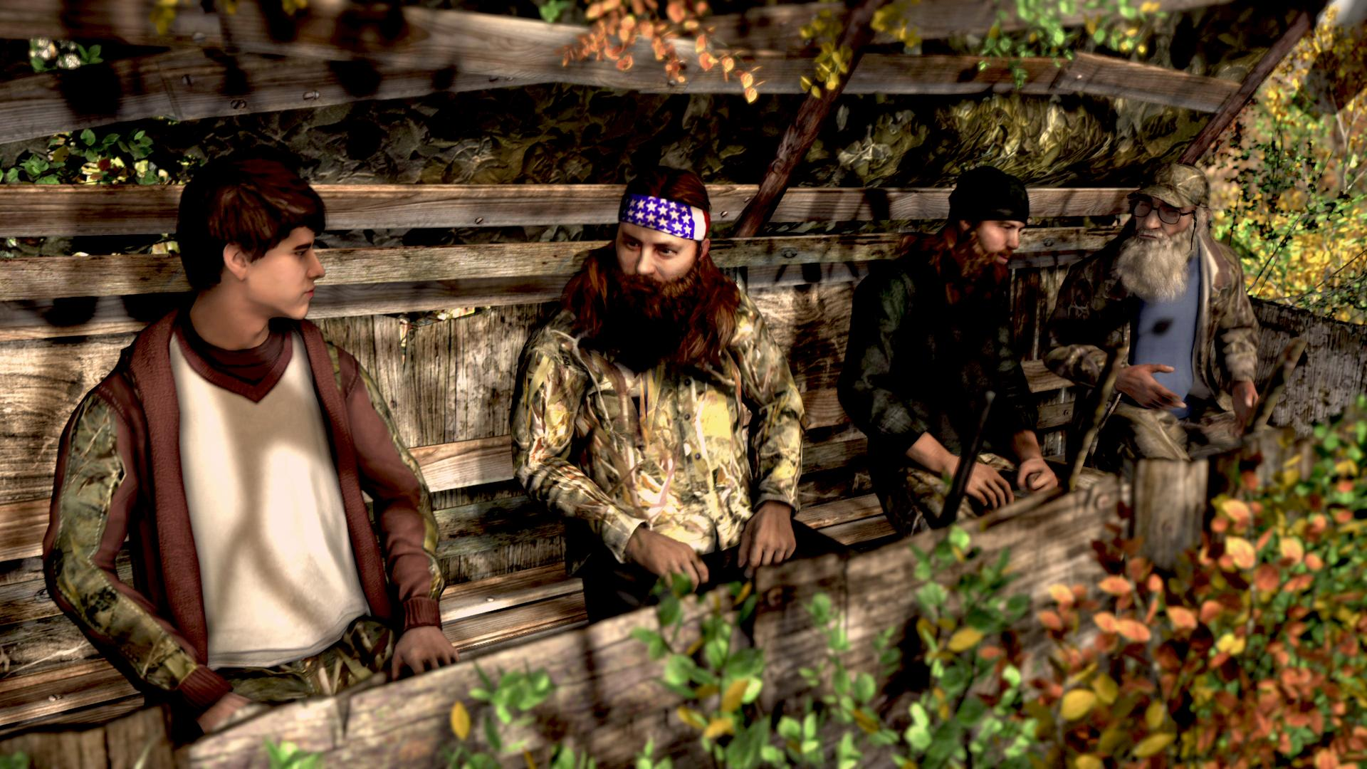 Duck dynasty xbox one video games for Xbox one hunting and fishing games