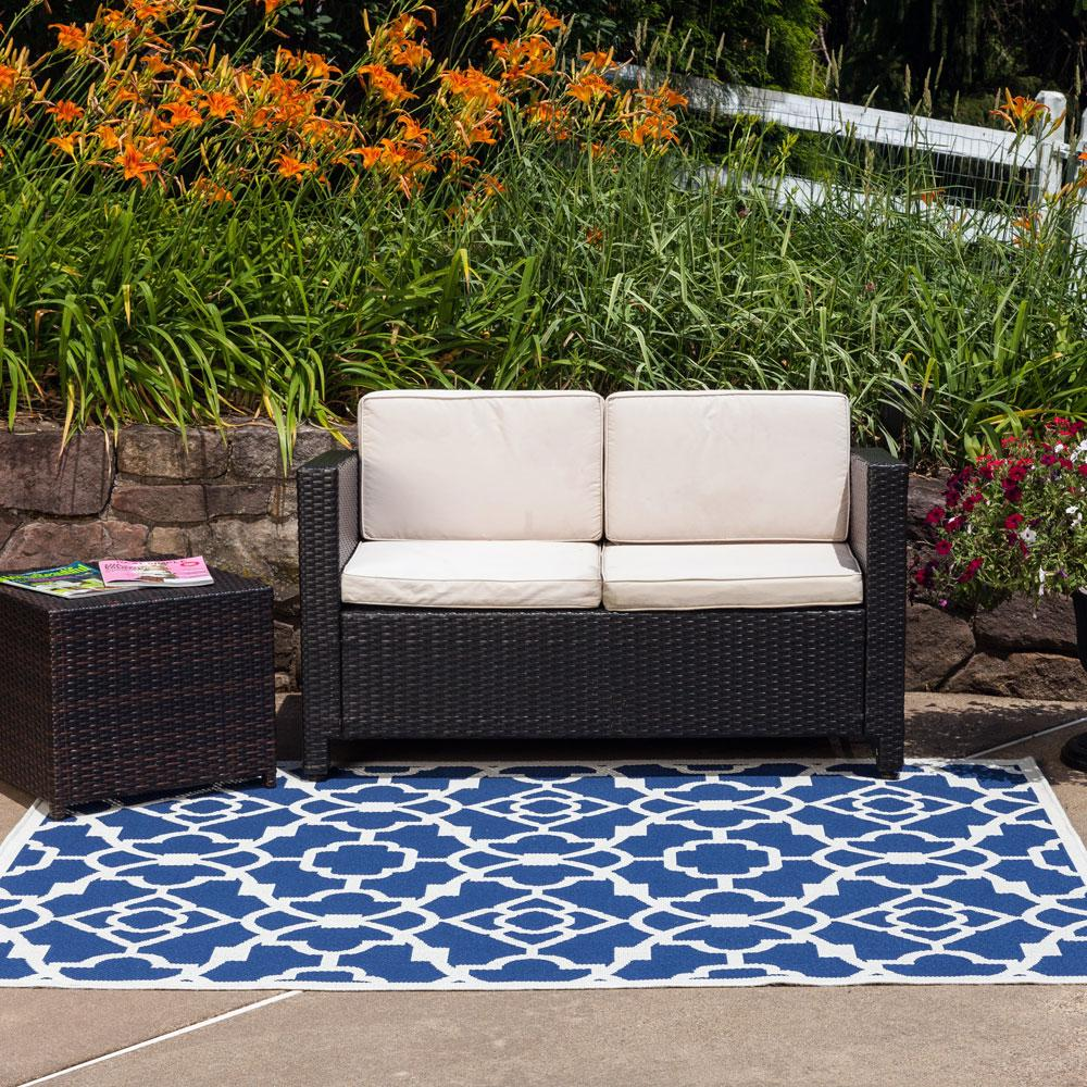 Amazon Budge Monaco Outdoor Patio Rug RUG057GY1 5