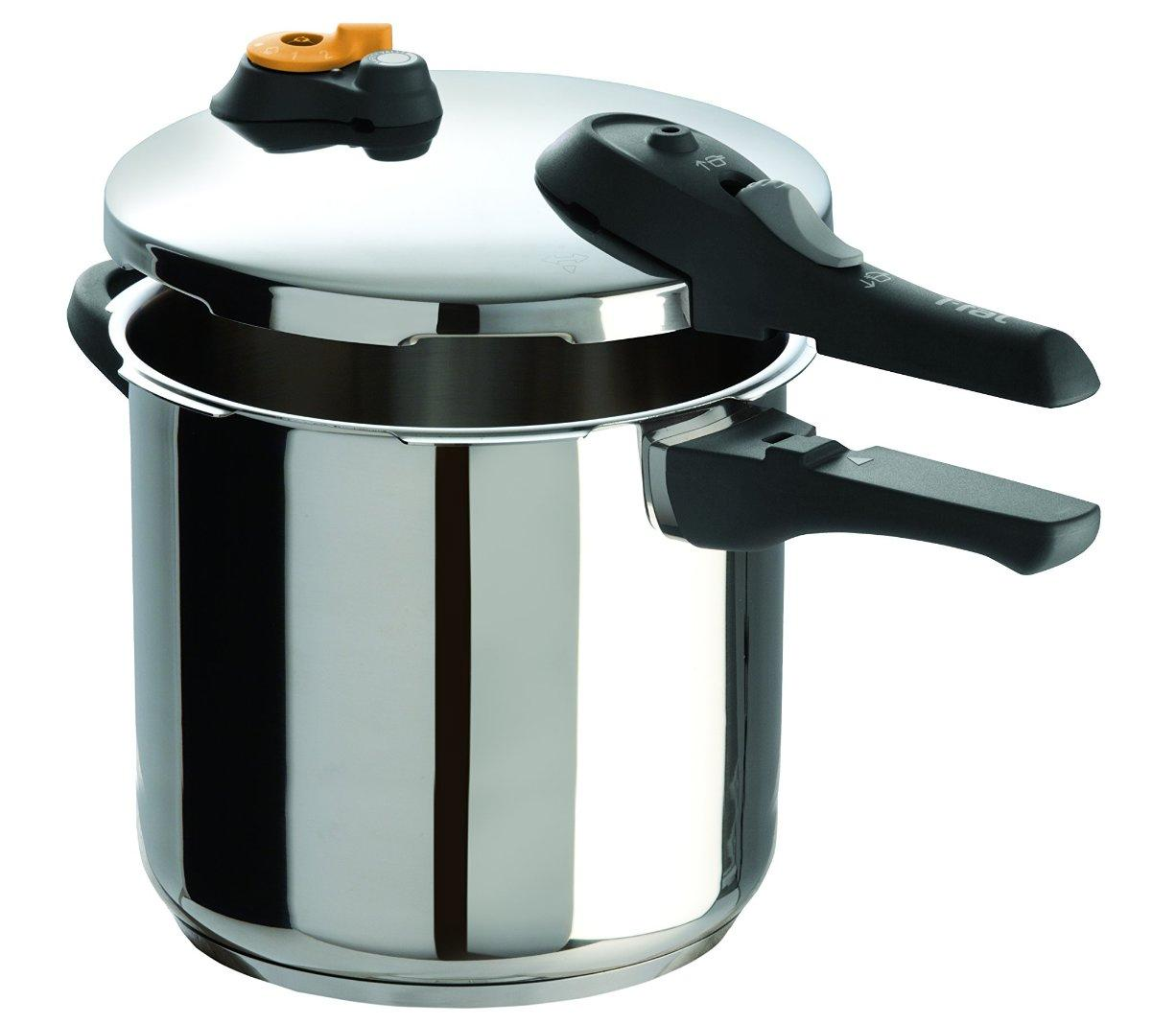 New t fal p2514437 pressure cooker 8 5 quart oven safe stainless steel easyclean - Cookers and ovens cleaning tips ...