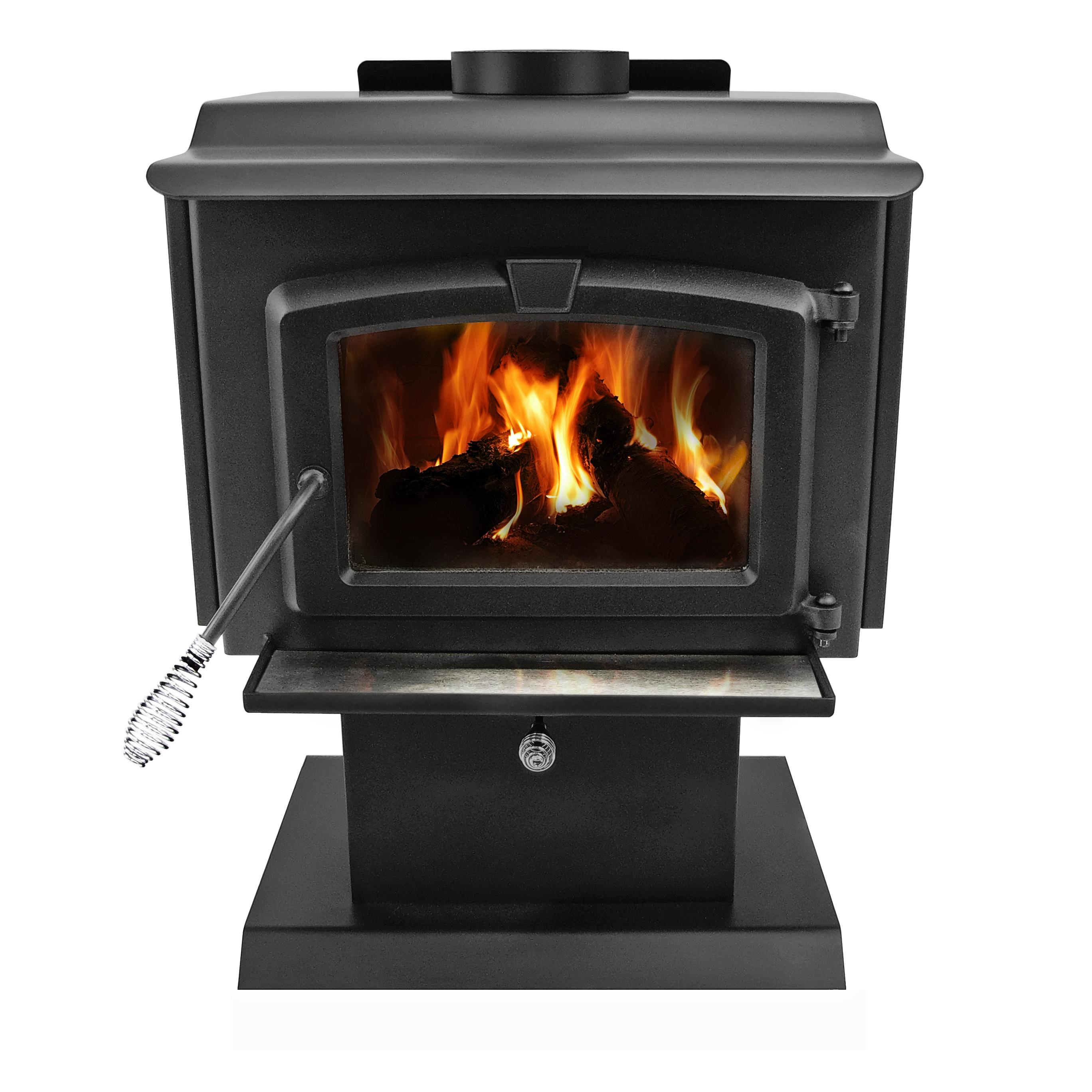 View larger for Most efficient small wood burning stove