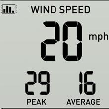 weather station with wind