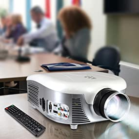 Pyle Widescreen Digital Multi-Media LED Projector