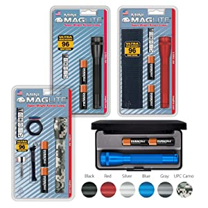 Maglite, Blister, Presentation, Box, Kit, Incandescent, 2-Cell, AA