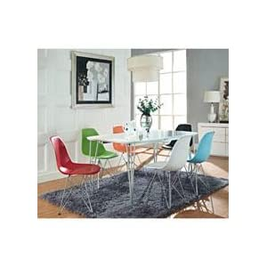 ray and charles eames, mid-century, modern, dining, chair