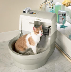 cat litter washing machine