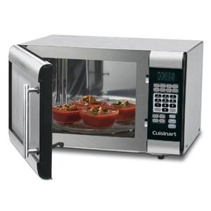 Cuisinart Cmw 100 1 Cubic Foot Stainless Steel Microwave Oven Countertop Microwave