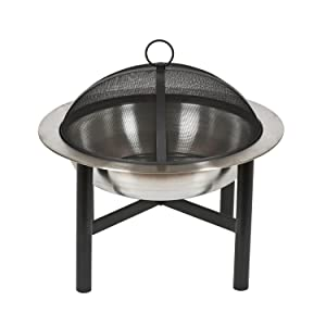 CorbaCo Contemporary Round Steel Fire Pit