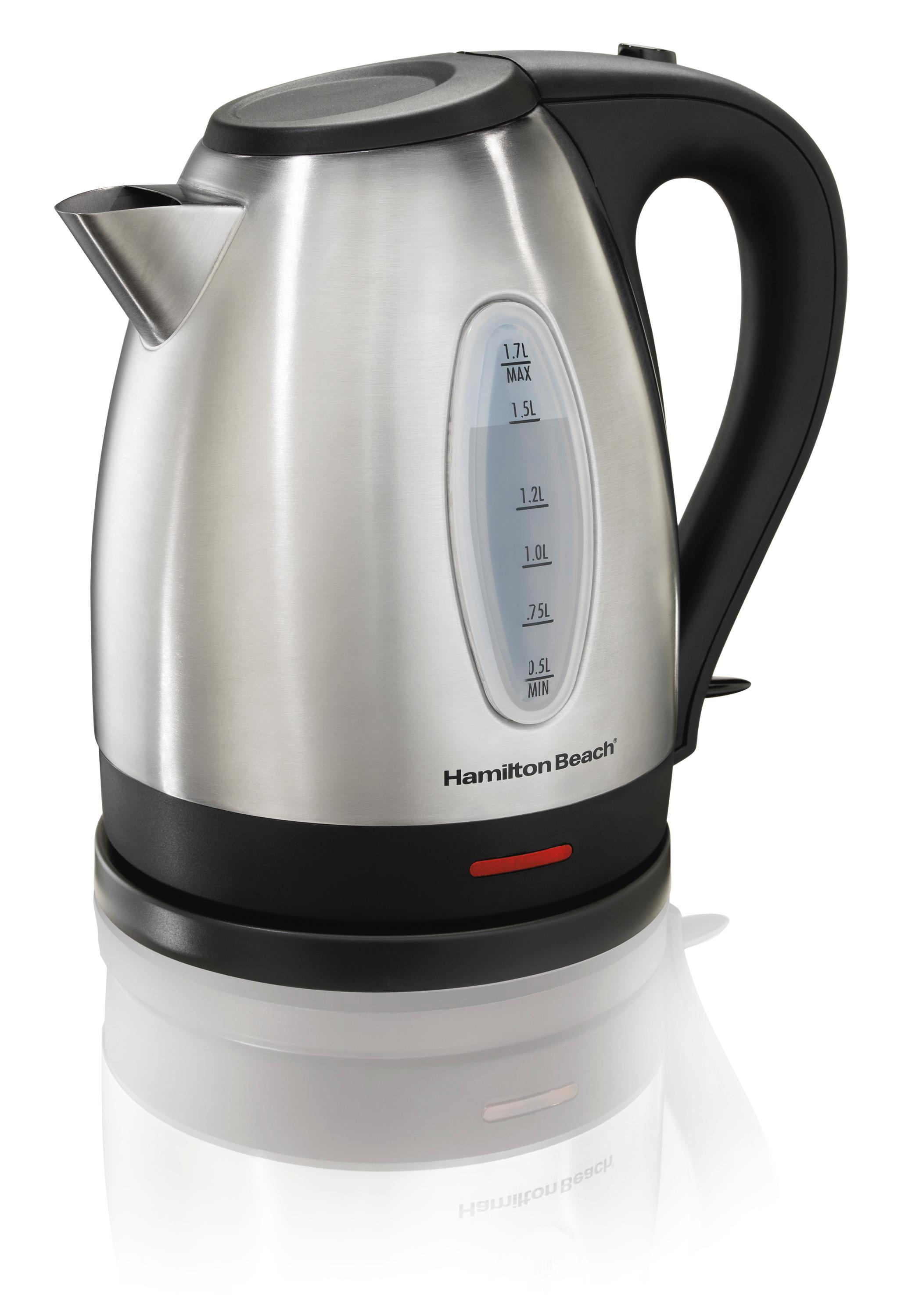 Top Rated Electric Water Kettle ~ Amazon hamilton beach stainless steel electric