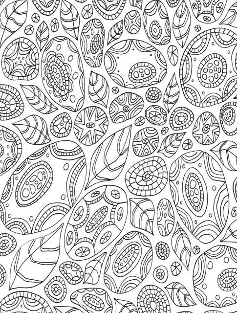 Secret Garden Coloring Book Download 11 Pages For Stressful Situations