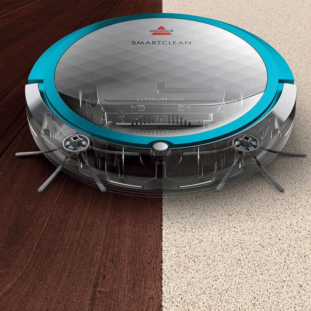 Bissell 1605 smartclean robotic vacuum for Robot sweepy
