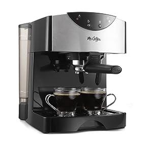 Amazon.com: Mr. Coffee ECMP50 Espresso/Cappuccino Maker, Black: Espresso Machines: Kitchen & Dining