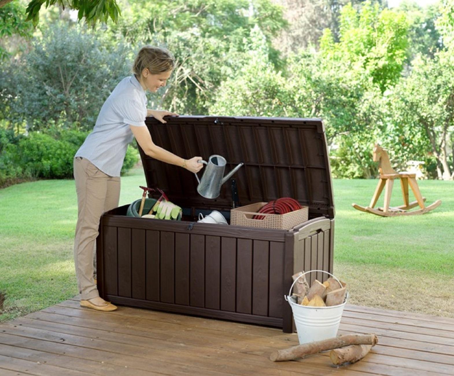 keter rockwood deck box instructions