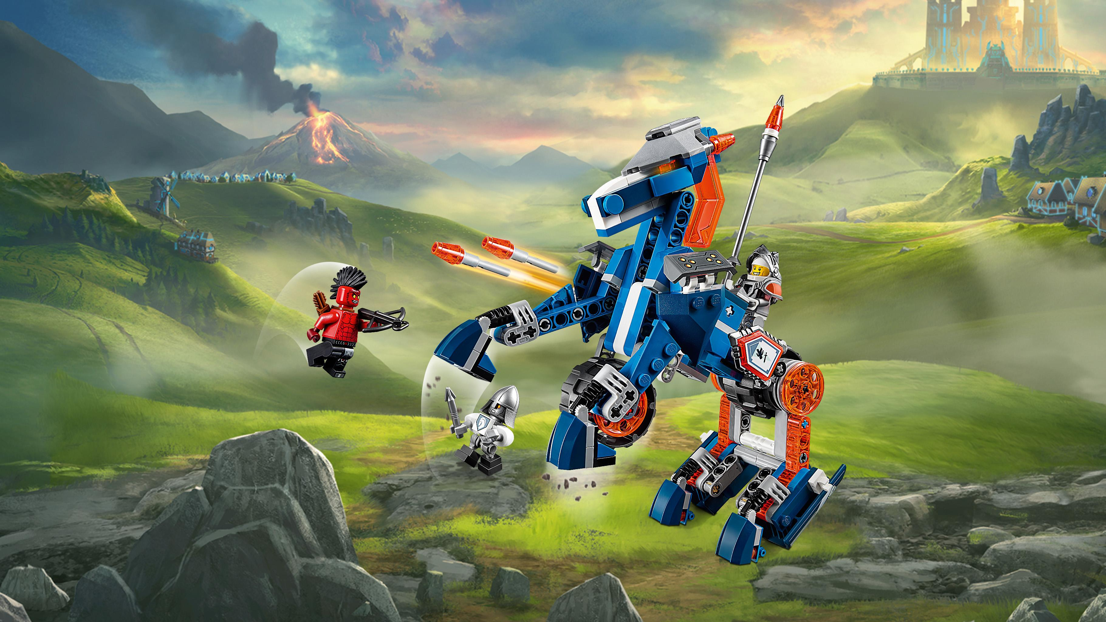 Amazon.com: LEGO NexoKnights Lance's Mecha Horse 70312: Toys & Games