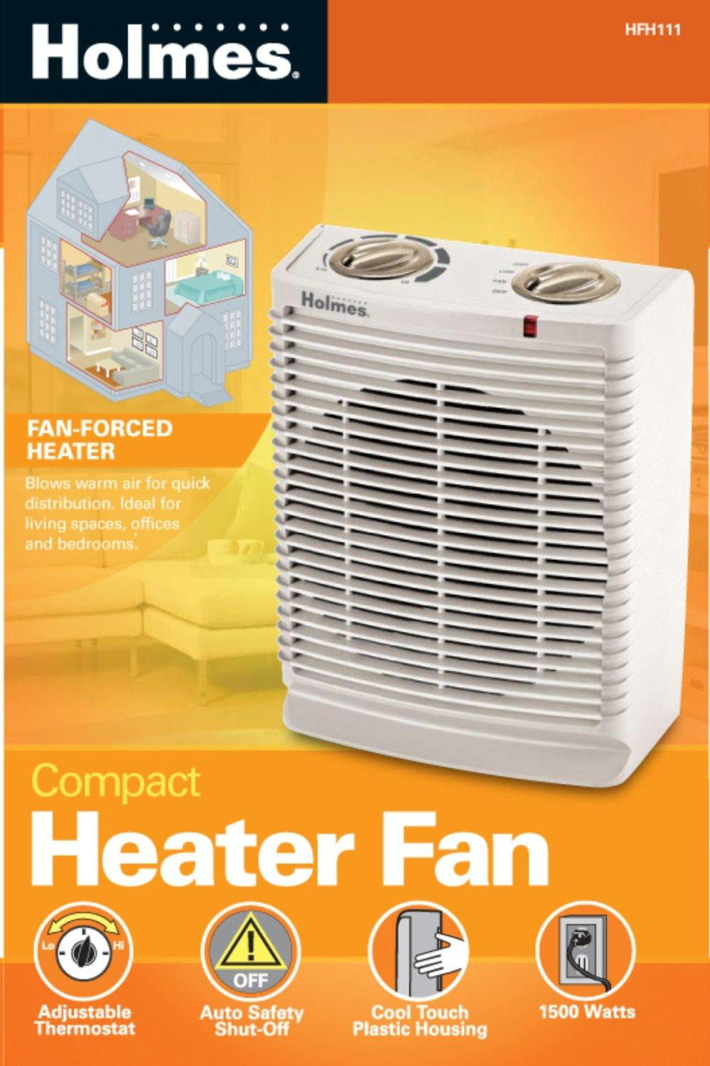 Holmes Portable Desktop Heater with Comfort Control Thermostat and