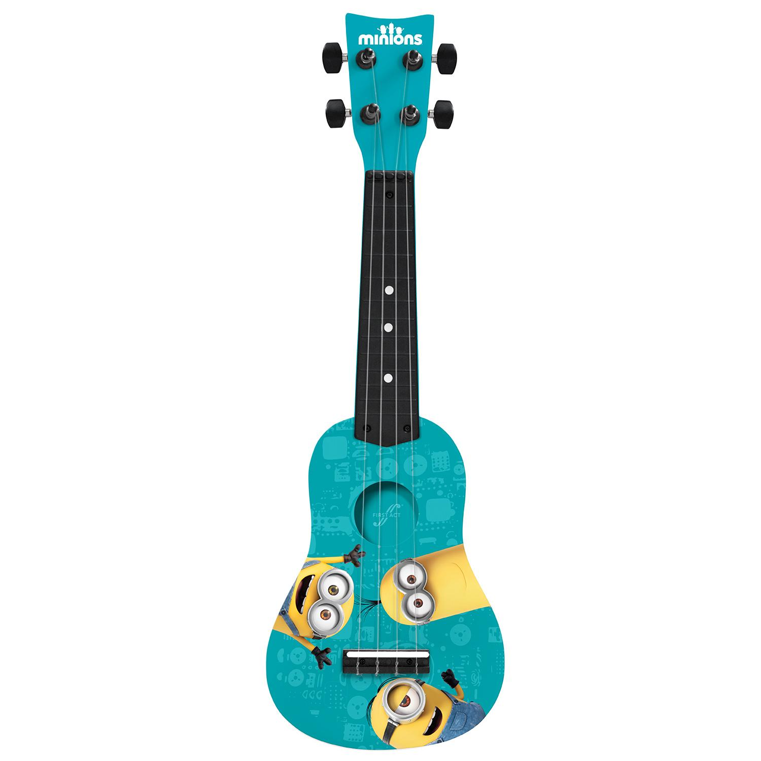 universal minions mini guitar by first act mn285 musical instruments. Black Bedroom Furniture Sets. Home Design Ideas