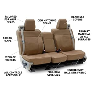 Coverking, Ballistic, custom seat covers, durability, toughness
