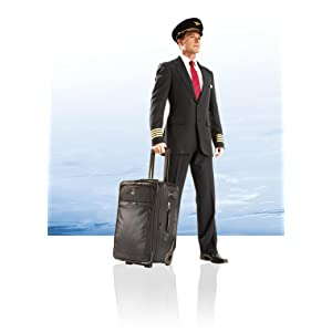 Amazon Com Travelpro Crew 10 22 Inch Expandable Rollaboard Suiter Black One Size Clothing