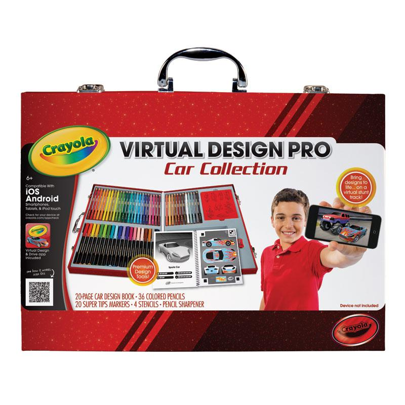 Amazon.com: Crayola Virtual Design Pro-Cars Set: Toys & Games