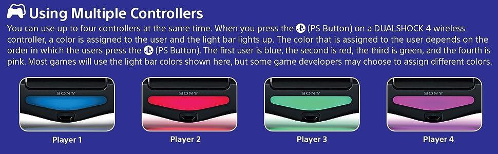 lightbar;multiplayer;multiple;dualshock;controller;ps4;player1;playstation;starwars;battlefront;ds4;