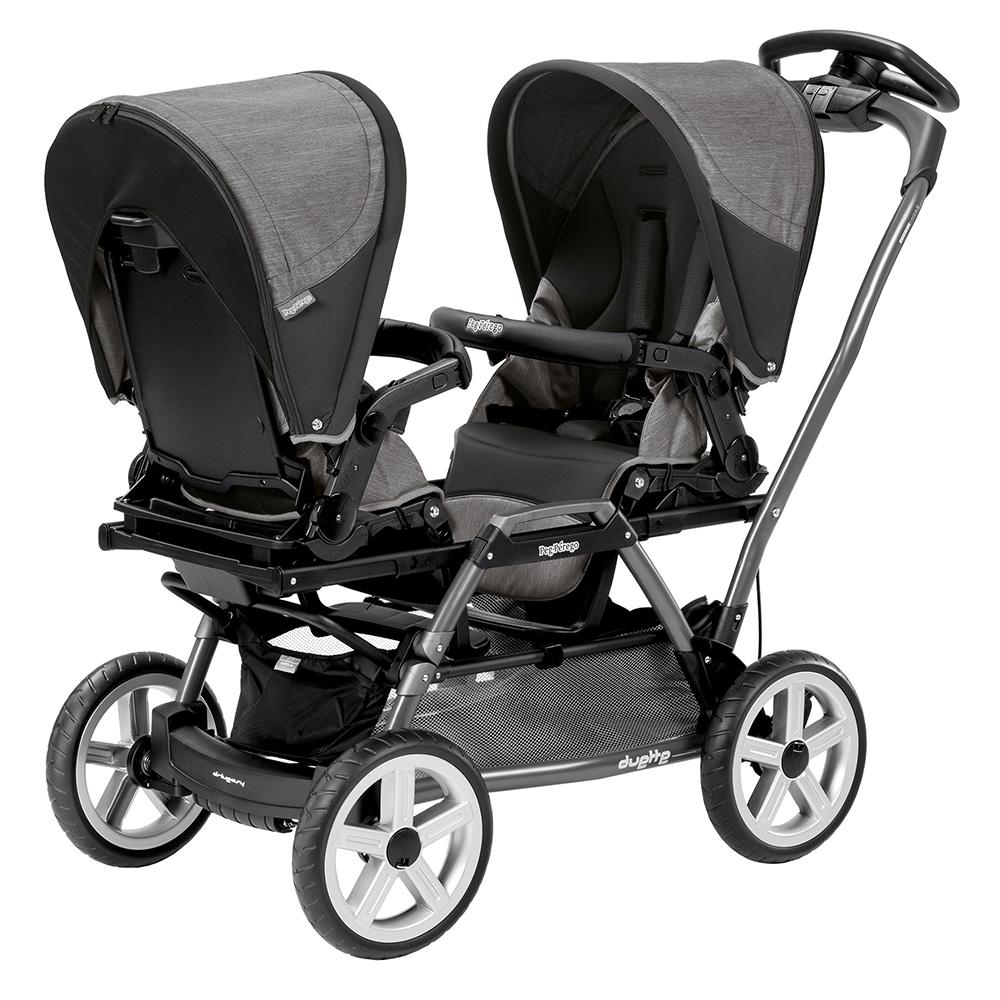 Amazon Com Peg Perego Duette Sw Stroller Chassis Grey