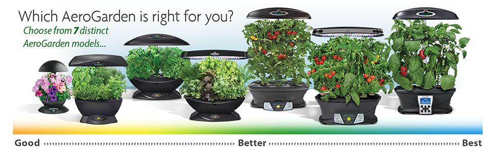 Miracle-Gro AeroGarden 3 Indoor Garden with Gourmet Herb Seed Kit