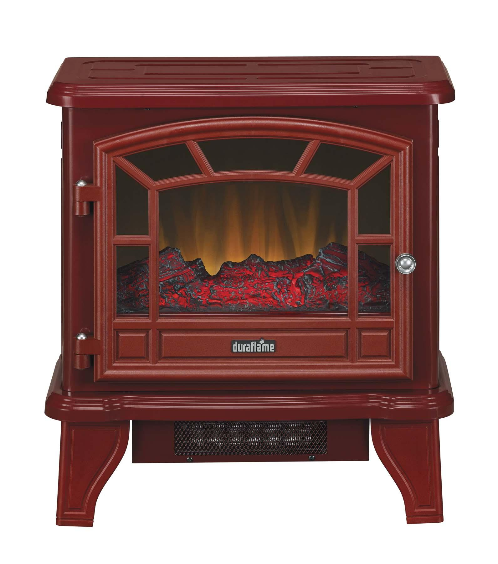 Duraflame Dfs 550 21 Red Stove Heater Red Space Heaters