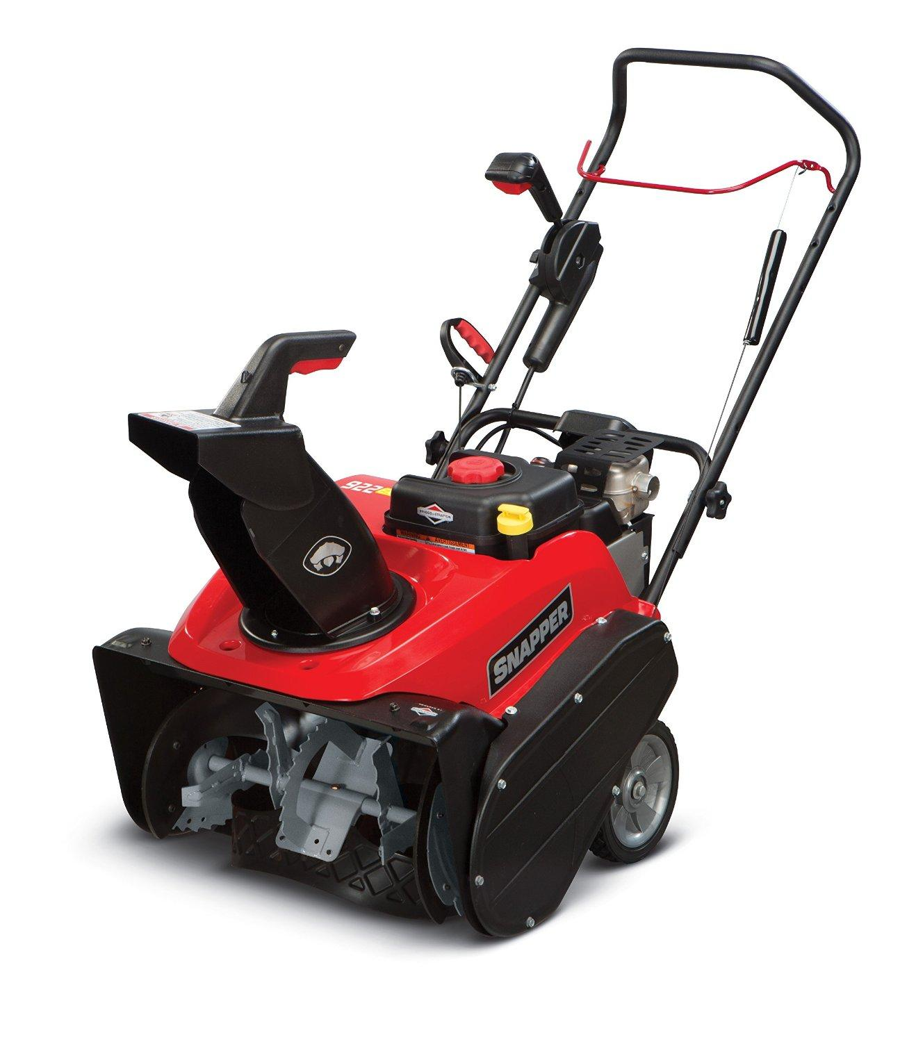 Amazon.com: Snapper 922EXD Single Stage Snow Blower with ...