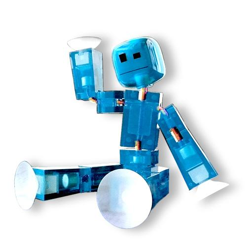 amazon   toy shed stikbots for 6 color action figure