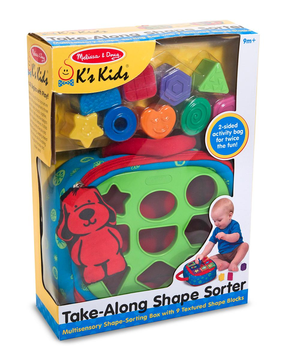Melissa Doug Toys : Amazon melissa doug k s kids take along shape