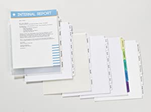 Customizable dividers for any type of project.