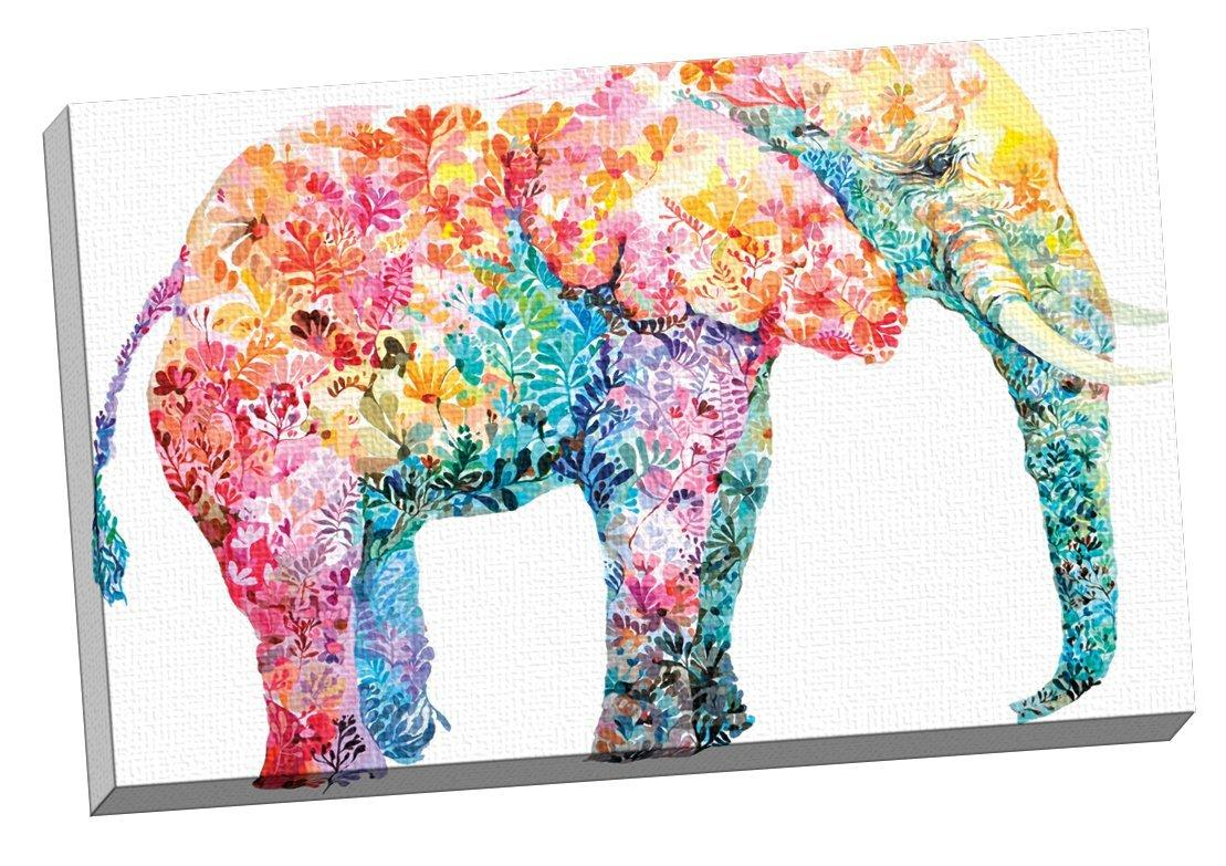 Portfolio canvas decor elephant gum by maria Colorful wall decor